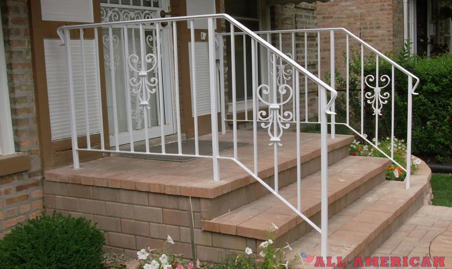 powdercoated railings