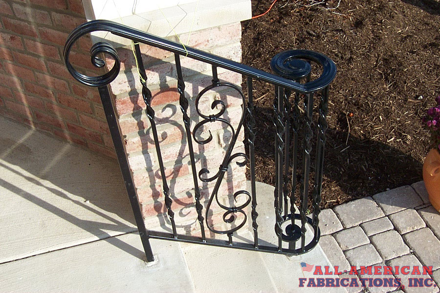 ornamental iron railing