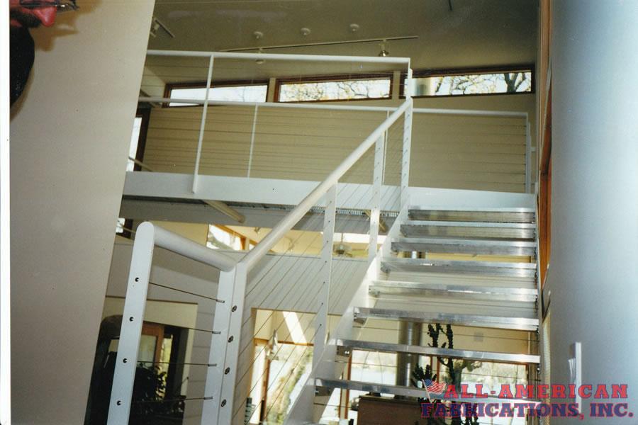 metal stairs residential