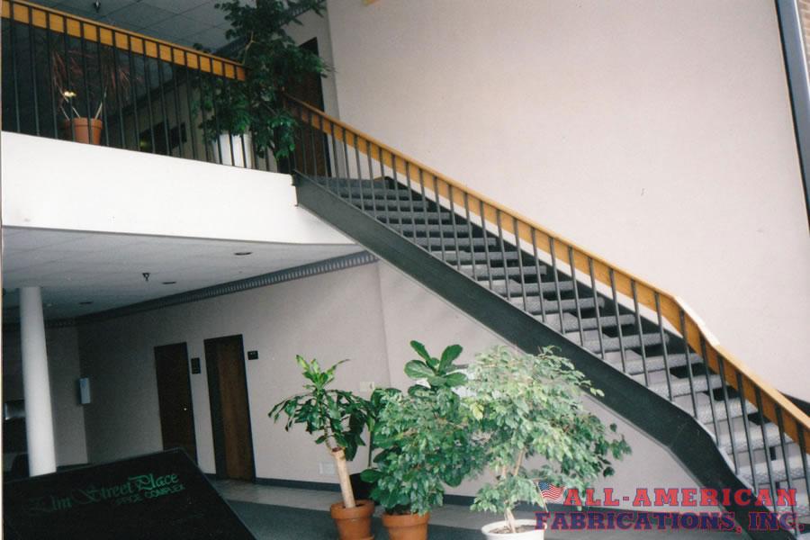 steel stair residential