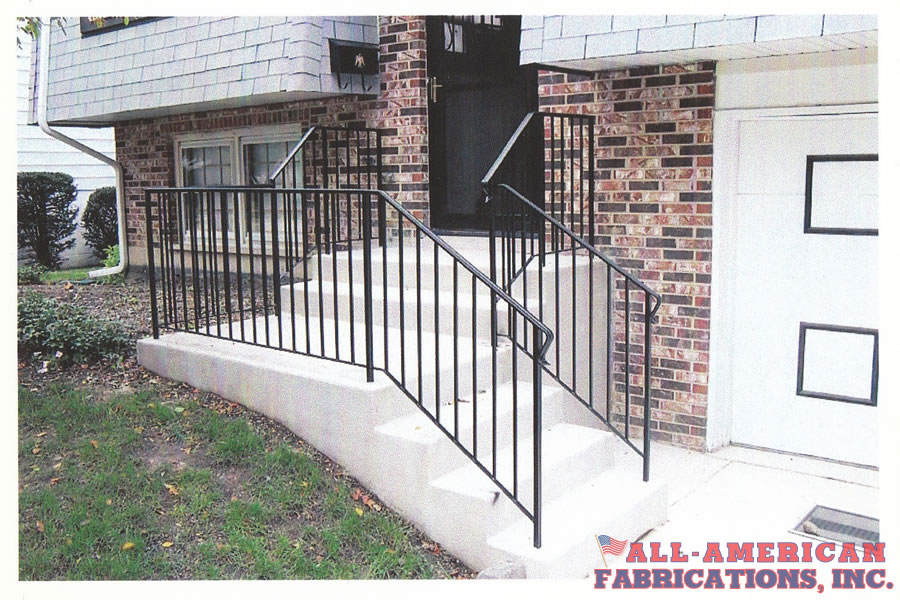metal railings for stairs