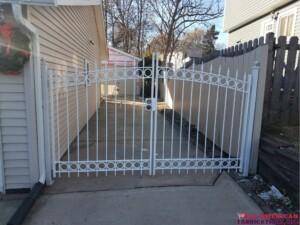 iron entrance gate