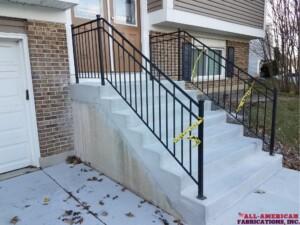 ornamental iron railings